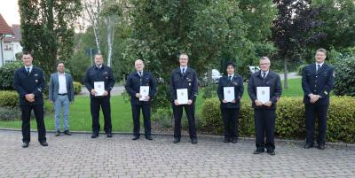 Anerkennungsprämie  für langjährige Aktive  in der Freiwilligen Feuerwehr Flieden