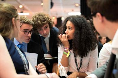 Bewerbung zur Teilnahme am Azubi- und Schülerforum (Europäisches Jugendparlament)