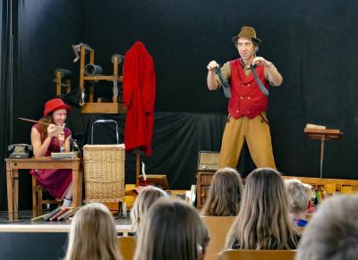 Das Theater in Aktion, Bild: Thomas Kube, LVZ