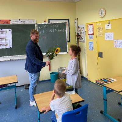 Vorschaubild zur Meldung: Besuch der Grundschulklasse 3a am 26. August 2020