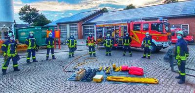 Vorschaubild zur Meldung: Übungsdienst der Löschgruppe Vettweiß