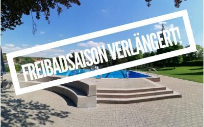 Vorschaubild zur Meldung: Verlängerung der Freibadsaison bis Donnerstag, 17. September 2020