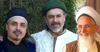 Foto zur Meldung: Sheikh Bahauddin Efendi, Sheikh Hassan Efendi & Sheikh Eşref Efendi im Sufi-Zentrum Rabbaniyya