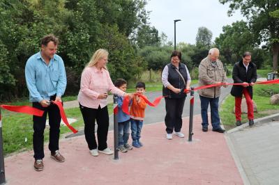 Gartenpromenade vom Bahnhof zum Prignitzcenter eröffnet