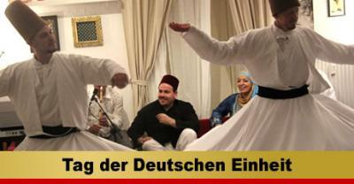 Foto zur Meldung: Tag der Deutschen Einheit im Sufi-Zentrum Berlin