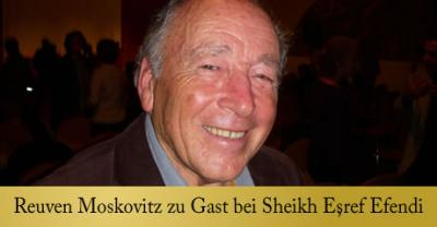 Foto zur Meldung: Reuven Moskovitz mit Sheikh Eşref Efendi