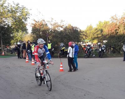 Foto zur Meldung: Triathlon im Ostharz: Durch die Hölle
