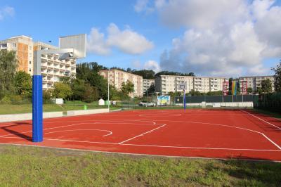 Offizielle Eröffnung der Streetballanlage