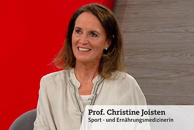 Bild der Meldung: DGSP-Vizepräsidentin Prof. Joisten klärt in WDR-Gesundheitssendung zu Bewegung und Ernährung auf