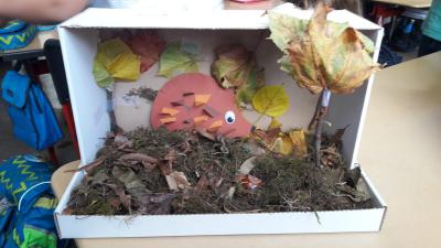 Foto zur Meldung: Herbst im Schuhkarton