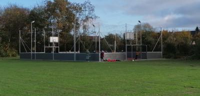 Vorschaubild zur Meldung: Der Soccerplatz ist fertig.