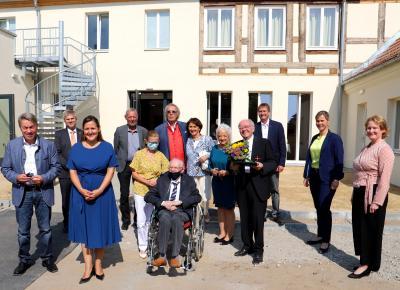 Foto zu Meldung: Rochowsche Renaissancebaus Reckahn wird an Stiftung übergeben