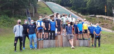 Das TSV Team mit 8 Ruhlaer Sportlern