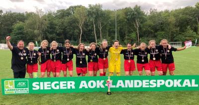 Die B-Juniorinnen des FC Energie Cottbus sicherten sich den Landespokal.