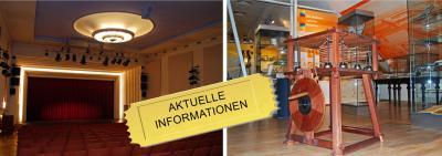 Foto zur Meldung: Kulturzentrum vom 25.9- 27.9.20 für den Besucherverkehr geschlossen!