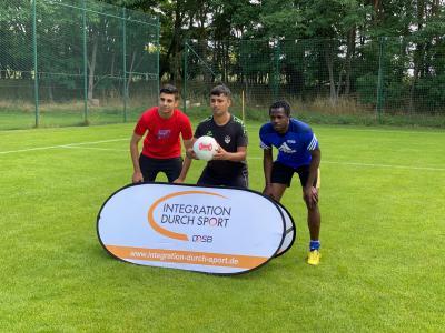 Vorschaubild zur Meldung: Teamleiterlehrgang im Fußball für Migranten