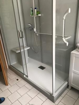 Vorschaubild zur Meldung: Umbau vom Bad mit Wanne zum Bad mit Dusche