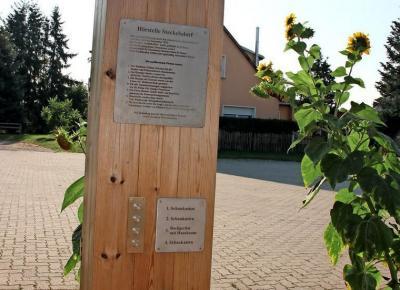 Foto zur Meldung: Einweihung der 1. Hörstelle in Steckelsdorf