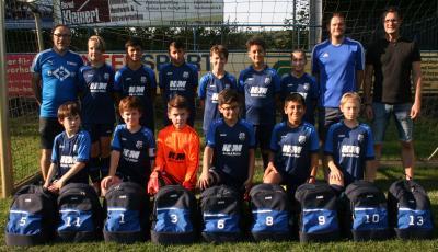 Foto zur Meldung: Jugend U12 - Neues Outfit für die U12