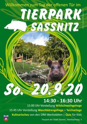 Willkommen zum Tag der offenen Tür im Sassnitzer Tierpark