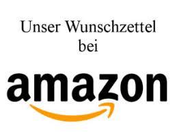 Amazon-Wunschliste!!!
