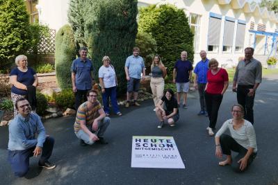 Auftakt Plakatkampagne, Foto: Koordinierungs- und Fachstelle  Partnerschaft für Demokratie – Storkow und Amt Scharmützelsee