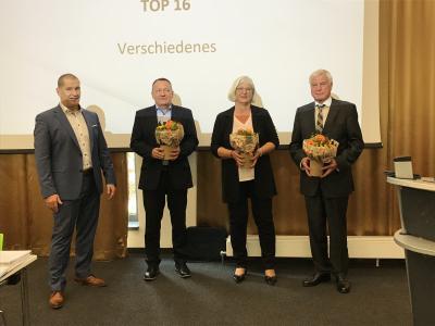 v.l.: Matthias Große, Gert Oestreich, Marina Wunderlich, Harald Löffler