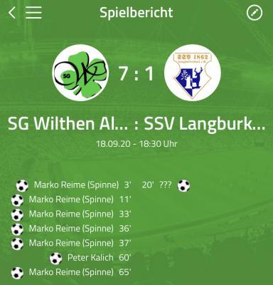 [SGW AH] Marko-Festspiele gegen Langburkersdorf