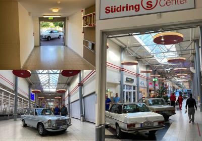 Auf geht's in die Shopping Mall