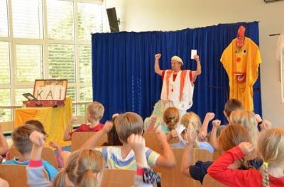 """Foto zur Meldung: Grundschule am See und """"Mausini"""" begehen den Tag der Zahngesundheit"""