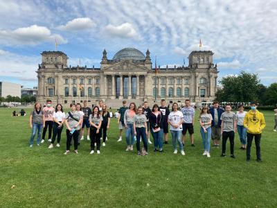 Vorschaubild zur Meldung: Abschlussfahrten nach Berlin und München