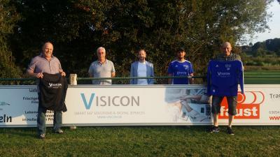 Vorschaubild zur Meldung: SG Bindsachsen - Firma VISICON auch mit Bandenwerbung bei der SG
