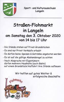 Vorschaubild zur Meldung: Straßen-Flohmarkt in Langeln