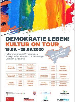 """Foto zur Meldung: """"Kultur on Tour"""": Tine Lott und Markus Karger spielen am Edeka-Markt"""