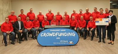 Neues E-Piano dank VR Bank Crowdfunding