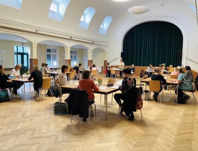 Netzwerktreffen der Grundschulen im Kulturhaus Hörlitz