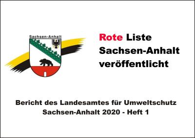 Rote Liste Sachsen-Anhalt veröffentlicht