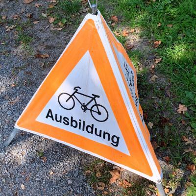 Vorschaubild zur Meldung: Radfahrausbildung der vierten Klassen