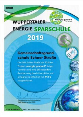 Foto zur Meldung: Wuppertaler Energie Sparschule