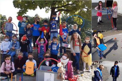 Foto zur Meldung: Klasse 1a: Dank an den Förderverein