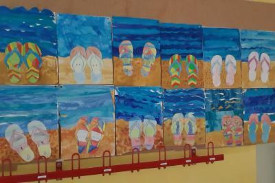 Foto zur Meldung: Klasse 4b: Sommerfeeling