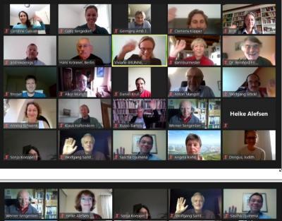 visueller Eindruck von der VDBIO-Mitgliederversammlung 2020