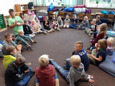 Foto zur Meldung: Schulübernachtung 2020 – Wir gehören zusammen!
