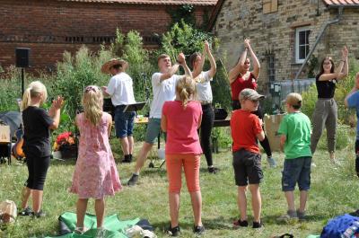Foto zur Meldung: Kindercamp On Tour