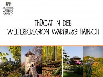 Vorschaubild zur Meldung: ThüCAT-Start – die Welterberegion Wartburg Hainich wird digital