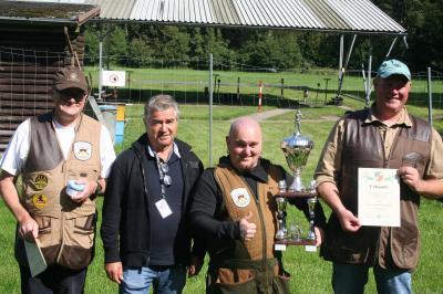 Siegermannschaft des 11. Ostseepokals des MSB - Heiligendammer Schützengilde
