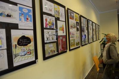 Vorschaubild zur Meldung: Alle Karikaturen der Cartoonaustellung online