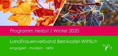 Vorschaubild zur Meldung: Programm Herbst / Winter 2020