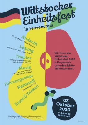 Vorschaubild zur Meldung: Freyenstein feiert Einheitsfest