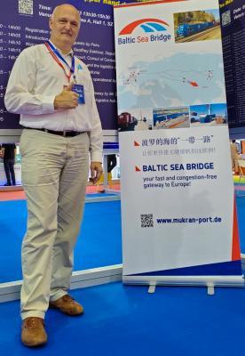 """"""" Baltic Sea Bridge"""" auf der CILF in Shenzhen"""